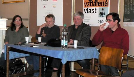 FOTO: Tvůrčí tým Národního divadla na tiskové konferenci.
