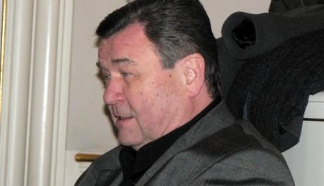 FOTO: Václav Postránecký na tiskovce ND, únor 2012