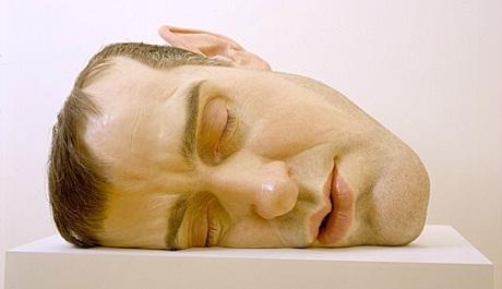 OBR: Ron Mueck Mask II. 2001