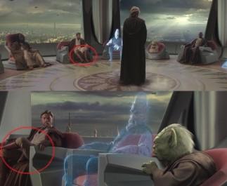 FOTO: Dvakrát Obi-Wan - a pokaždé sedí jinak