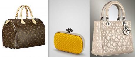 FOTO: Luxusní značkové kabelky