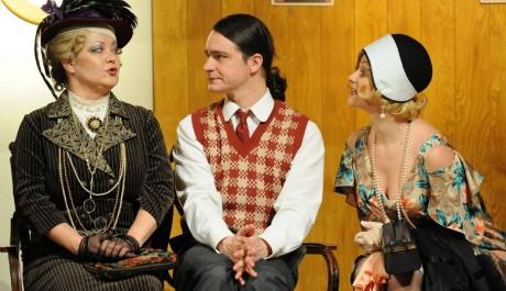 FOTO: Ladislav Špiner v obklopení dvou krásných žen