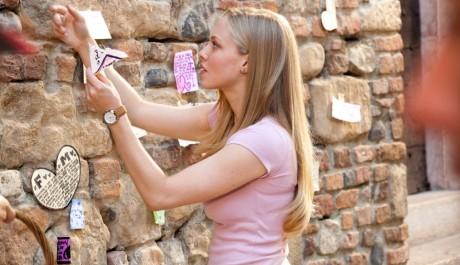 FOTO: zeď ve Veroně