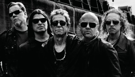 Lou Reed, zde při nedávné spolupráci s Metallikou Zdroj: loureedmetallica.com