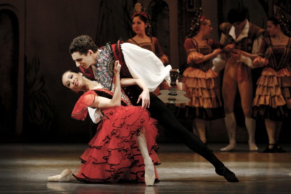 FOTO: Balet Don Quijote Státní opera Praha