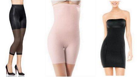 FOTO: Stahovací a tvarující spodní prádlo Spanx