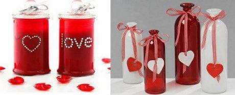 FOTO: Valentýnská výzdoba
