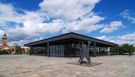 OBR: Ludwig Mies van der Rohe, Národní galerie Berlín, 1965 –1968