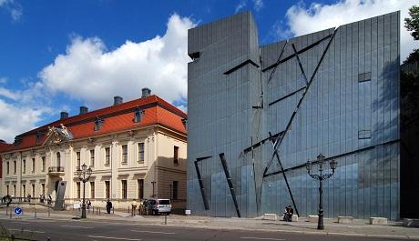 OBR: Daniel Libeskind , Židovské muzeum Berlín, 1992–1999