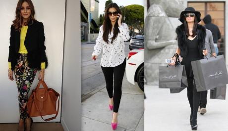 FOTO: Street style celebrit - Olivia Palermo, Kim Kardashian, Paris Hilton