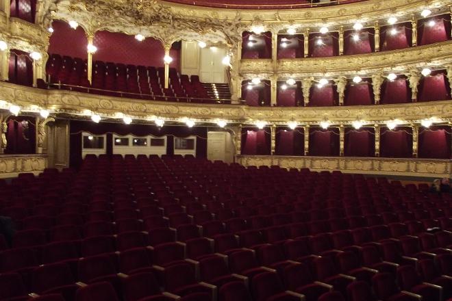 FOTO: Hlediště, Státní opera Praha