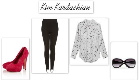FOTO: Outfit Kim Kardashian