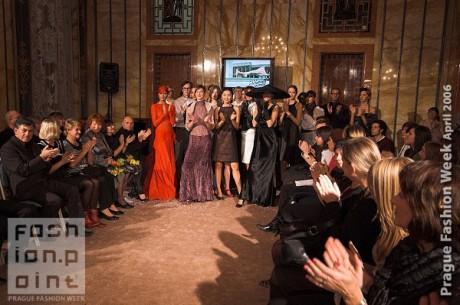 FOTO: Prague Fashion week, předávání cen 2006