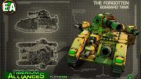 Command and Conquer alliances tank