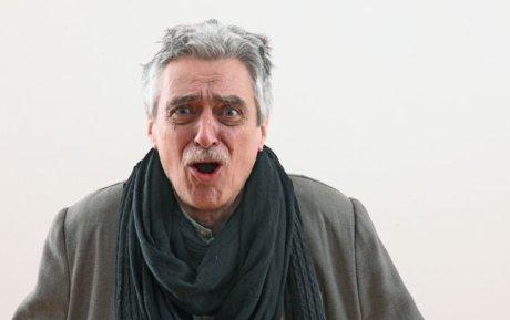 FOTO: Pavel Pavlovský v kostýmu Harpagona, kampaň Klasika v Divadle J. K. Tyla (2012)
