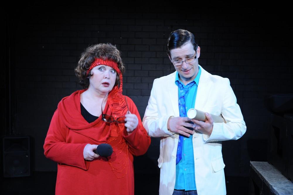 FOTO: Sheldon a jeho matka paní Levinová - Divadlo v Řeznické