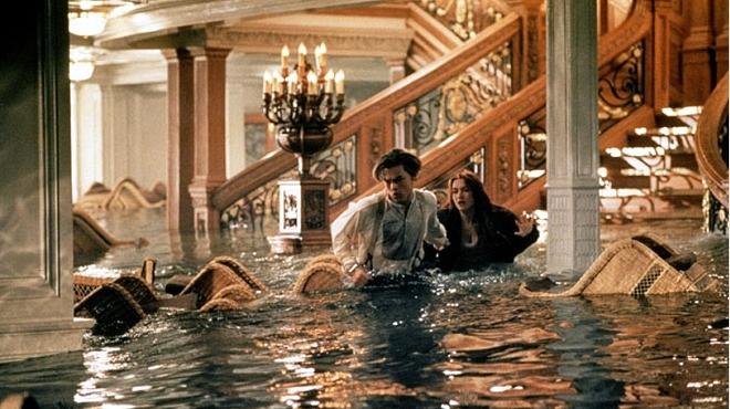 FOTO: Závěrečná scéna z filmu Titanic