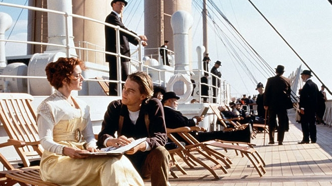 FOTO: Jack a Rose ve filmu Titanic
