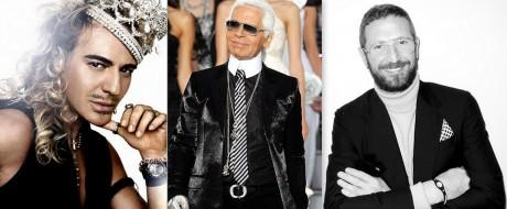 FOTO: John Galliano, Karl Lagerfeld, Stefano Pilati