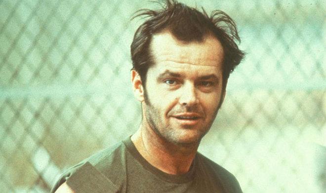 FOTO: Jack Nicholson ve filmu Přelet nad kukaččím hnízdem
