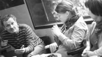 FOTO: Miroslav Krobot na čtené zkoušce inscenace Brian