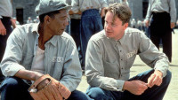 FOTO: Morgan Freeman, Tim Robbins - The Shawshank Redemption