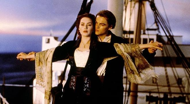 FOTO: Památná scéna z Titaniku