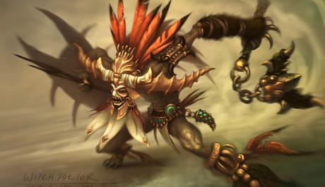 OBR. Diablo 3 Witch doctor