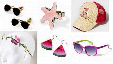 FOTO: Módní doplňky a šperky - léto 2012
