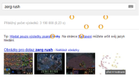 SCREENSHOT: Google Zerg Rush