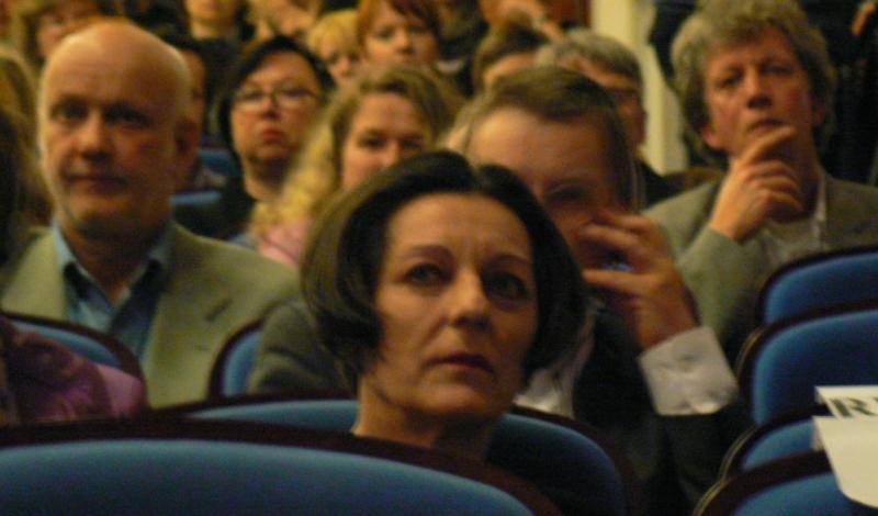 FOTO: Herta Müllerová v Praze