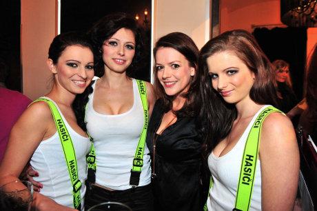 FOTO: Vítězky Miss Hasička 2011