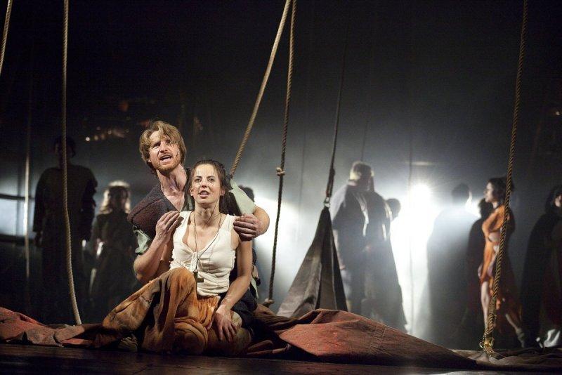 Petr Kubes a Klára Klepáčková na scéně