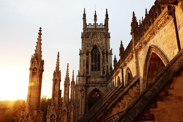York Minster katedrála, Zdroj: pixabay.com