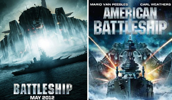 FOTO: Battleship vs American Battleship