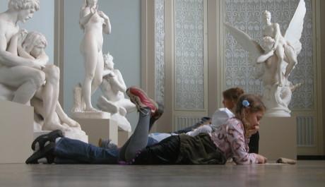 FOTO: Děti v muzeu