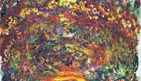 OBR: Claude Monet: Chodník s růžemi, 1920