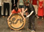 FOTO: Předání dřevěného Disku