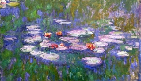 OBR: Claude Monet - Lekníny