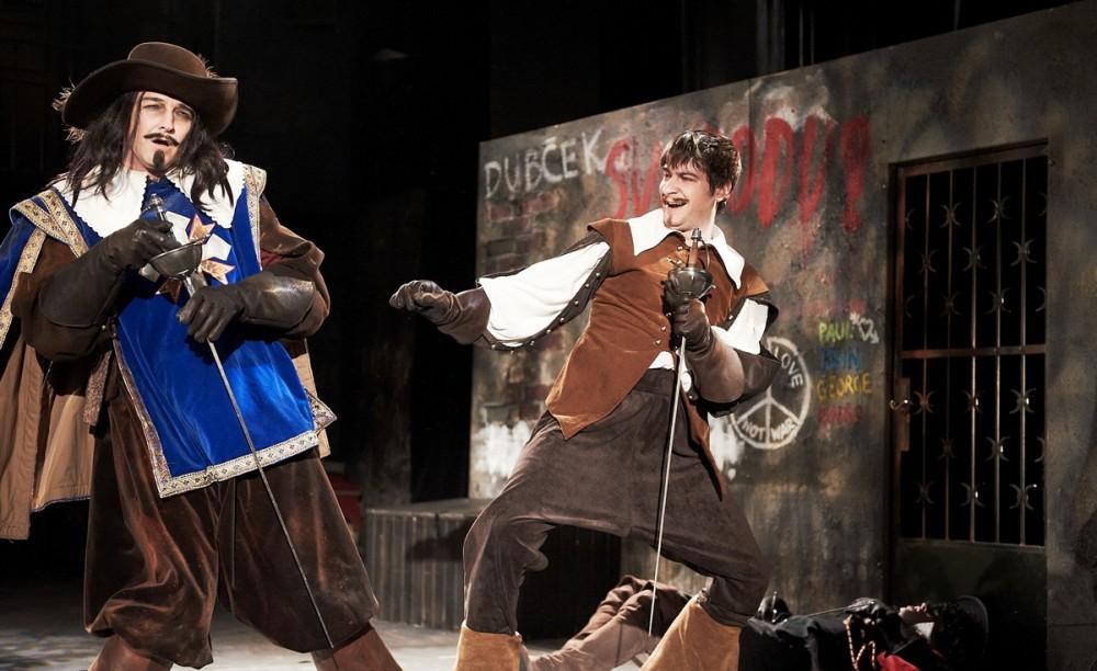 FOTO: Tři mušketýři