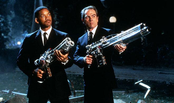 FOTO: Will Smith - Muži v černém - agent J a agent K