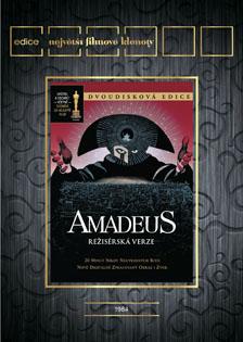 FOTO: Amadeus - přebal DVD