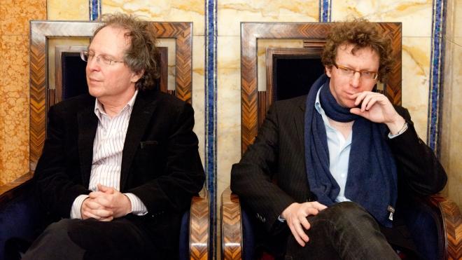 FOTO: Arnon Grunberg a Michael March