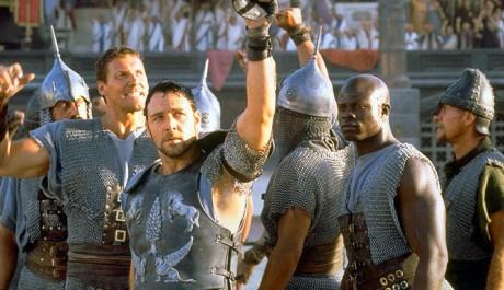 FOTO: Gladiátor - Gladiátoři v aréně