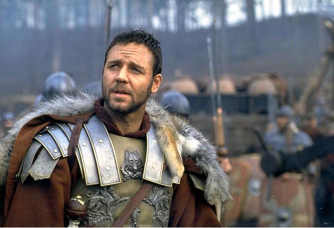 FOTO: Gladiátor Russel Crowe