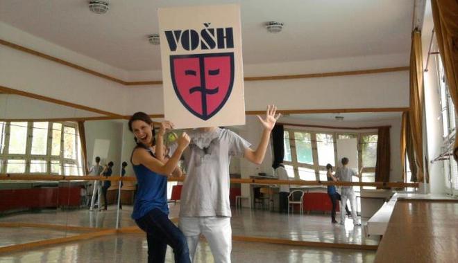 FOTO: Vyšší odborná škola herecká v Praze