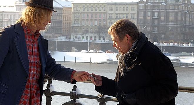 FOTO: Jan Budař po boku zesnulého prezidenta