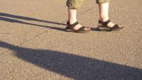 FOTO: pantofle v létě noste výhradně bez ponožek