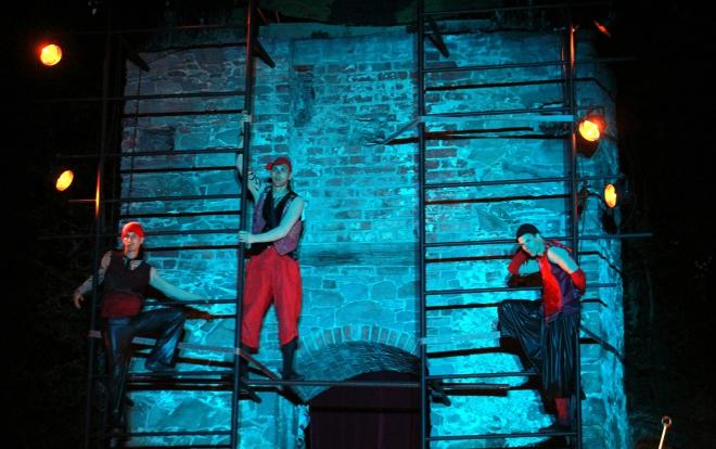 Akrobaté na scéně VČD