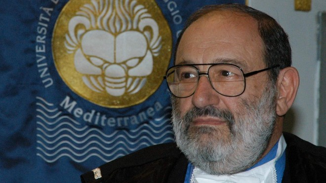 FOTO: Italský spisovatel Umberto Eco
